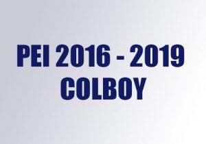 PEI 2016 2019 Colboy